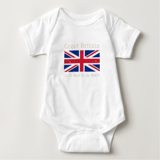 Great Britain - I want to go back! Baby Bodysuit
