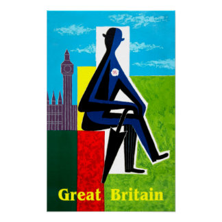 Great Britain travel poster