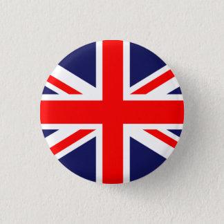 Great Britain Union Jack 1 Inch Round Button