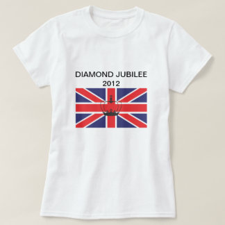 Great Britain Union Jack Flag Fitted Tee Shirt