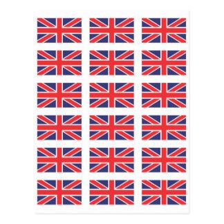 Great Britain Union Jack Flag Postcard