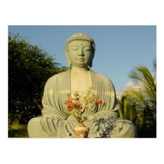Great Buddha at Lahaina Jodo Mission Postcard