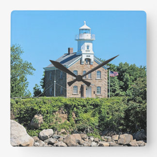 Great Captain Island Lighthouse, CT Wall Clock