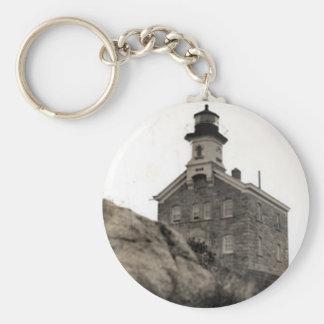 Great Captain Island Lighthouse Keychain