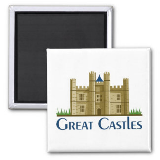 Great Castles Magnet
