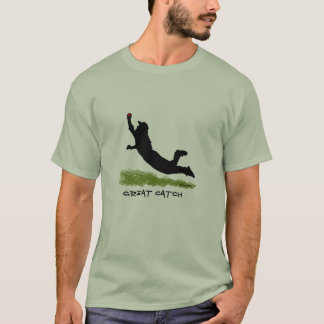 Great Catch V Cricket T Shirt