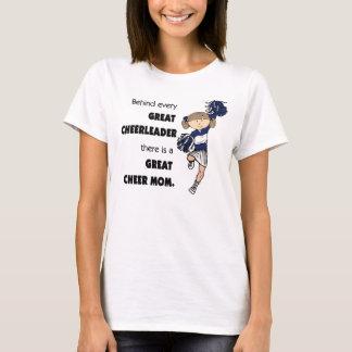 Great Cheer Mom-brown T-Shirt