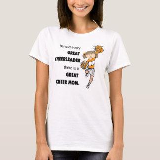 Great Cheer Mom-Orange T-Shirt