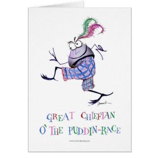 great  chieftan o'the puddin-race card