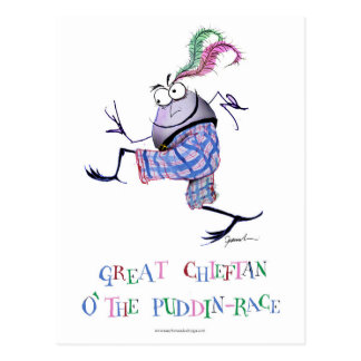 great  chieftan o'the puddin-race postcard