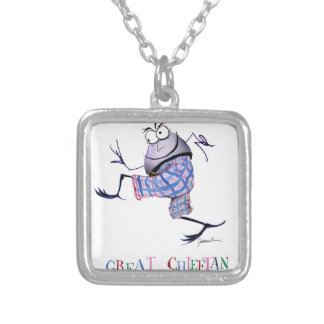 great  chieftan o'the puddin-race silver plated necklace