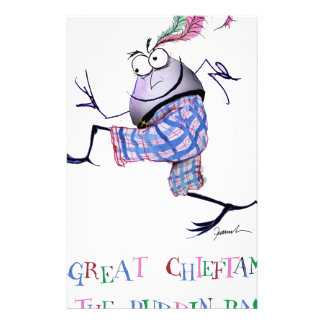 great  chieftan o'the puddin-race stationery
