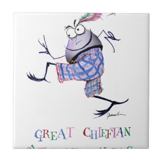 great  chieftan o'the puddin-race tile