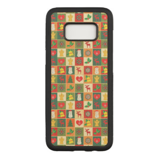 Great Christmas Pattern Carved Samsung Galaxy S8 Case