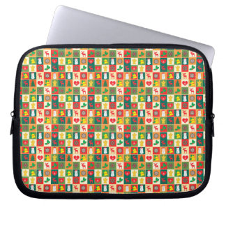 Great Christmas Pattern Laptop Sleeve