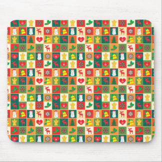 Great Christmas Pattern Mouse Pad