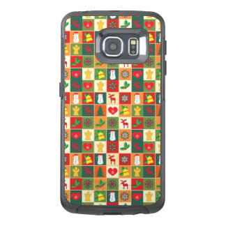 Great Christmas Pattern OtterBox Samsung Galaxy S6 Edge Case