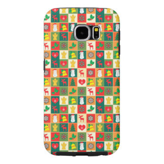 Great Christmas Pattern Samsung Galaxy S6 Cases