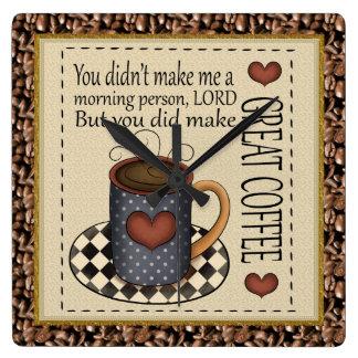 Great Coffee Clock