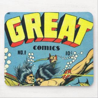 Great Comics Mouse Pad