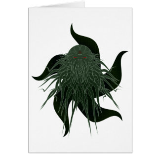 Great Cthulhu Customisable Greeting Card