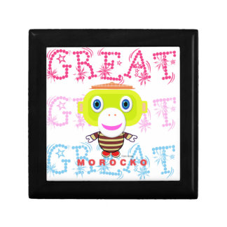 Great-Cute Monkey-Morocko Gift Box