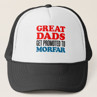 Great  Dads Promoted To Morfar Trucker Hat