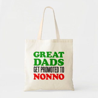 Great Dads Promoted To Nonno Tote Bag