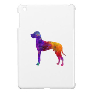 Great dane 01 in watercolor-2 cover for the iPad mini