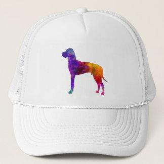 Great dane 01 in watercolor-2 trucker hat