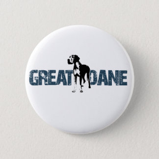 Great Dane 2 Inch Round Button