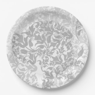 Great Dane Abstract 9 Inch Paper Plate