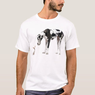 Great Dane and Chihuahua T-Shirt
