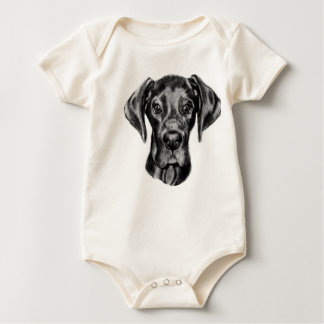 Great Dane Baby outfit Baby Bodysuit