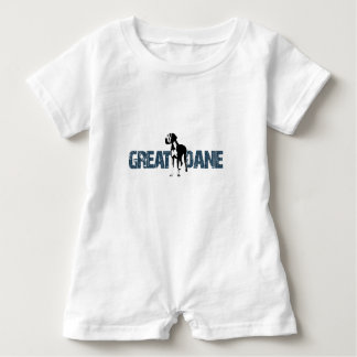 Great Dane Baby Romper