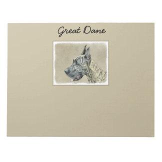 Great Dane (Brindle) Notepad