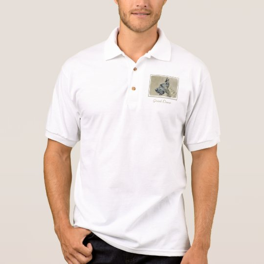Great Dane (Brindle) Polo Shirt