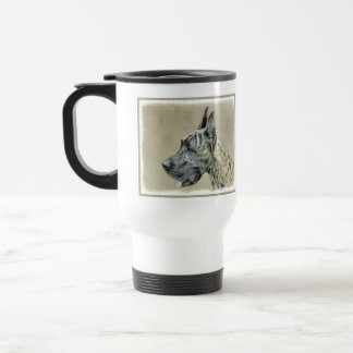 Great Dane (Brindle) Travel Mug