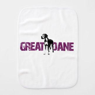 Great Dane Burp Cloth