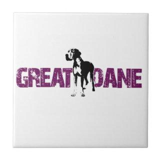 Great Dane Ceramic Tile