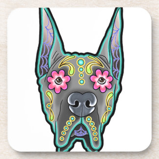 Great dane - cropped ear edition - day of th coaster