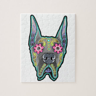 Great dane - cropped ear edition - day of th jigsaw puzzle