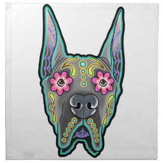 Great dane - cropped ear edition - day of th napkin