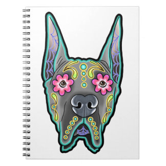Great dane - cropped ear edition - day of th notebook