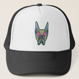 Great dane - cropped ear edition - day of th trucker hat