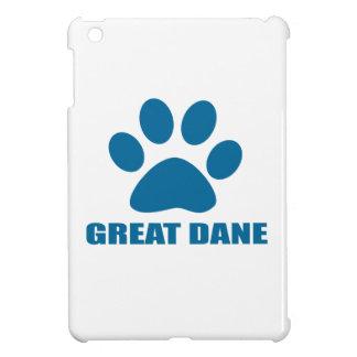 GREAT DANE DOG DESIGNS iPad MINI CASE
