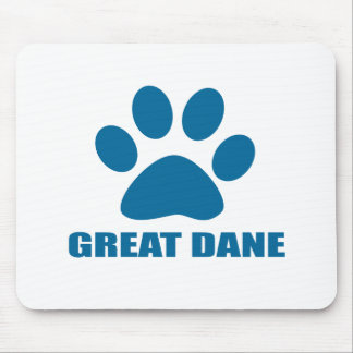 GREAT DANE DOG DESIGNS MOUSE PAD