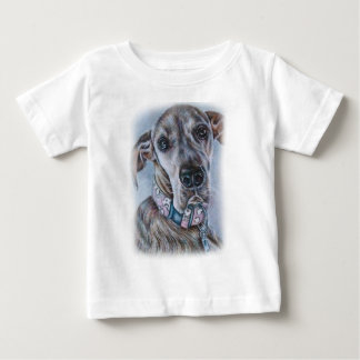 Great Dane Dog Drawing Design Baby T-Shirt