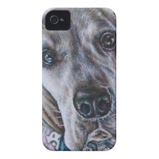Great Dane Dog Drawing Design Case-Mate iPhone 4 Cases