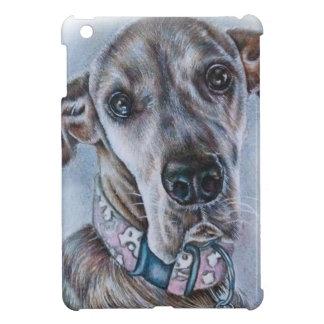 Great Dane Dog Drawing Design iPad Mini Cases